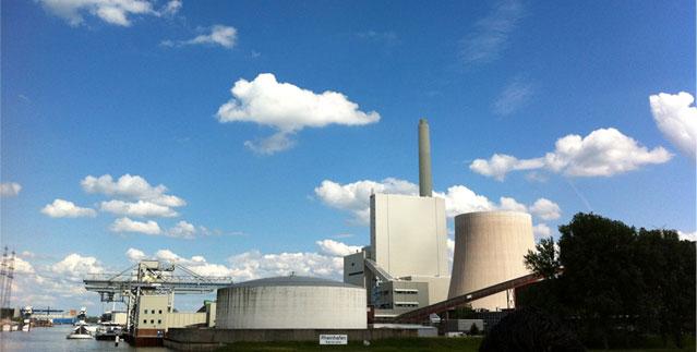 Kraftwerk RDK8 Karlsruhe